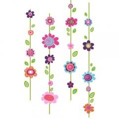 RoomMates RMK1622GM Raumdekor kunterbunte Blumen