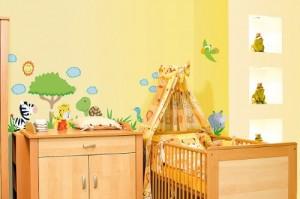 """infactory Tierisch lustige Wandtattoos fürs Kinderzimmer """"Südafrika"""""""