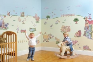 FunToSee Zimmerdekorations-Set Funberry Farm