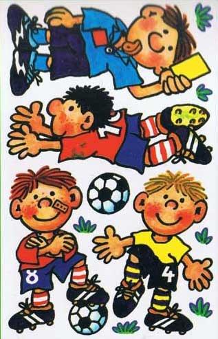 Fussball Wandtattoos 3 Bögen von Lutz Mauder