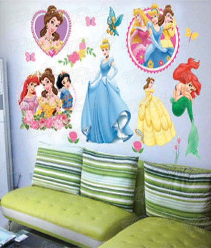 Wandtattoo kinderzimmer disney princess - Wandtattoo kinderzimmer disney ...