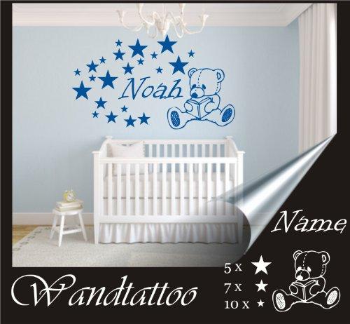 das-label Wandtattoo Kinderzimmer Sterne \