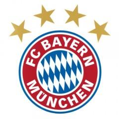 alenio 9101 - alenio Wandtattoo - FC Bayern München Logo, 30x40 cm
