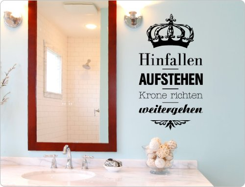 wandsticker spr che und zitate onlineshop mit g nstigen preisen. Black Bedroom Furniture Sets. Home Design Ideas