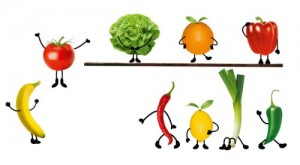 Eurographics Deco Sticker / Wandtattoo DS-DT1033 Crazy Vegetable 25 x 35 cm