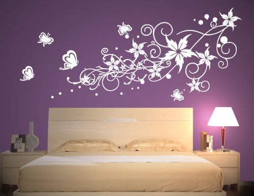 wandaufkleber schlafzimmer g nstige wandsticker. Black Bedroom Furniture Sets. Home Design Ideas