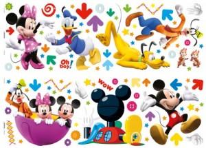 Decofun 40206B Wandaufkleber Mickey Mouse Clubhouse