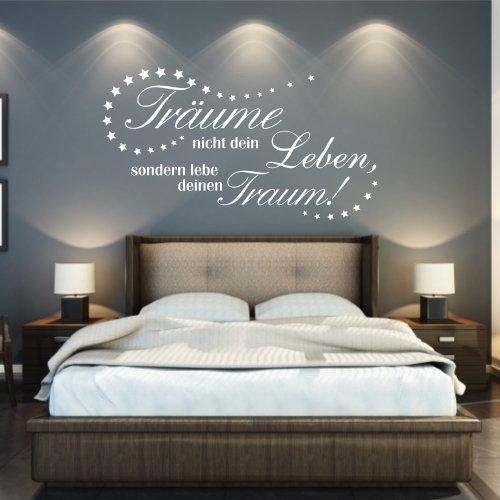 """Wandtattoo """"Träume leben"""", 106 x 59 + Rakel von mldigitaldesign"""
