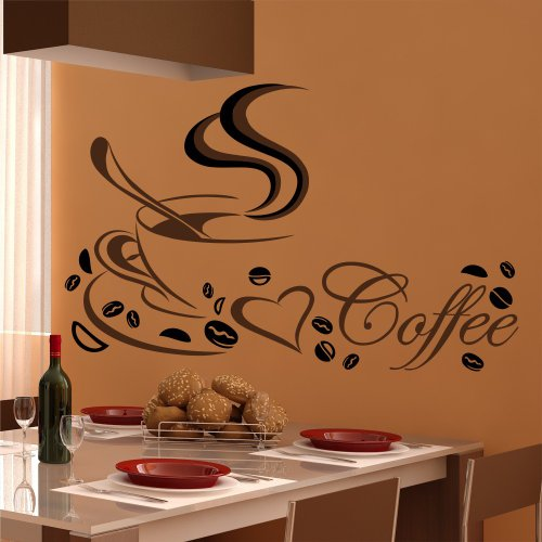 wandtattoos k che kaffee haus design ideen. Black Bedroom Furniture Sets. Home Design Ideas