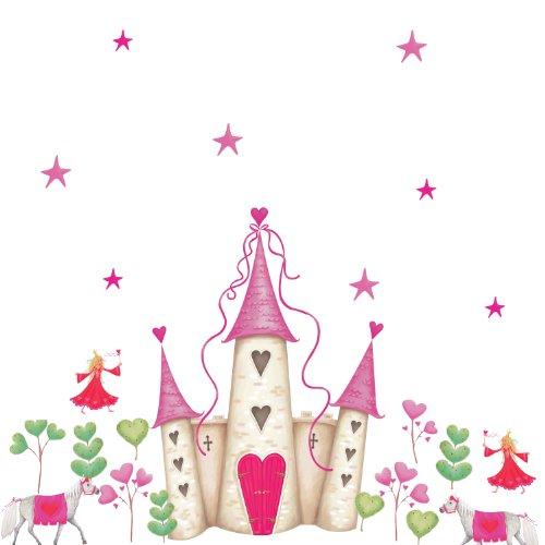 RoomMates - Riesenwandsticker Prinzessinnen-Schloss