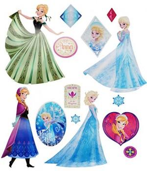 Wandtattoo Disney die Eiskönigin